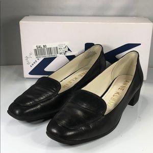 [185] Anne Klein 6.5 M Daneen (Black Leather)